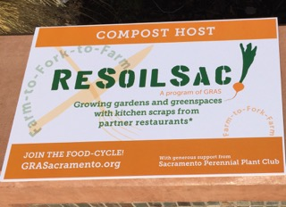 promotional sign for ReSoilSac